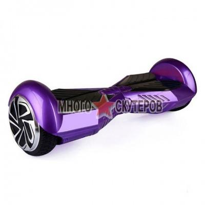 Самобалансирующийся Гироскутер Smart Balance 6 дюймов (Фиолетово-черный)