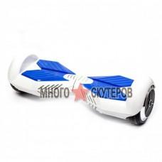 Гироскутер Smart Balance 6 дюймов (Бело-голубой) - Самобаланс