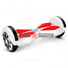 Гироскутер Smart Balance 6 дюймов (Бело-красный) - Самобаланс